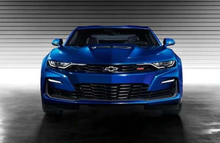Front end of the 2021 Chevrolet Camaro