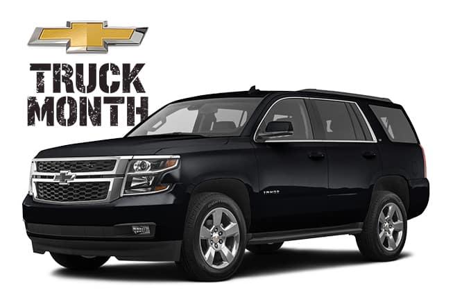 2020 Chevrolet Tahoe Truck Month