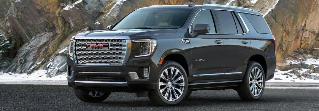 what are the color options for the 2021 gmc yukon?