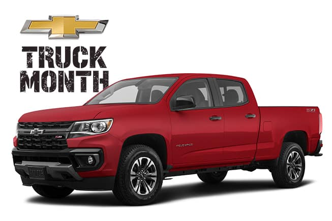 Chevy Truck Month 2021 Colorado Work Truck Base