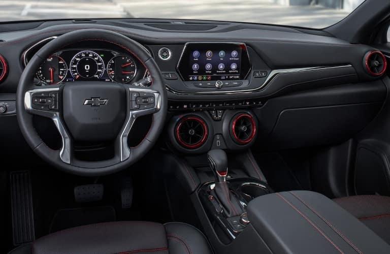 2021 Chevrolet Blazer dashboard