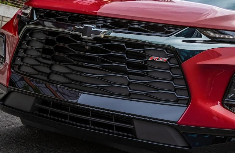 2021 Chevrolet Blazer front grille