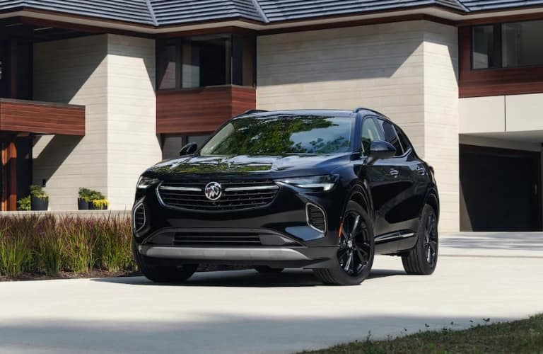 2021 Buick Envision Avenir in a driveway