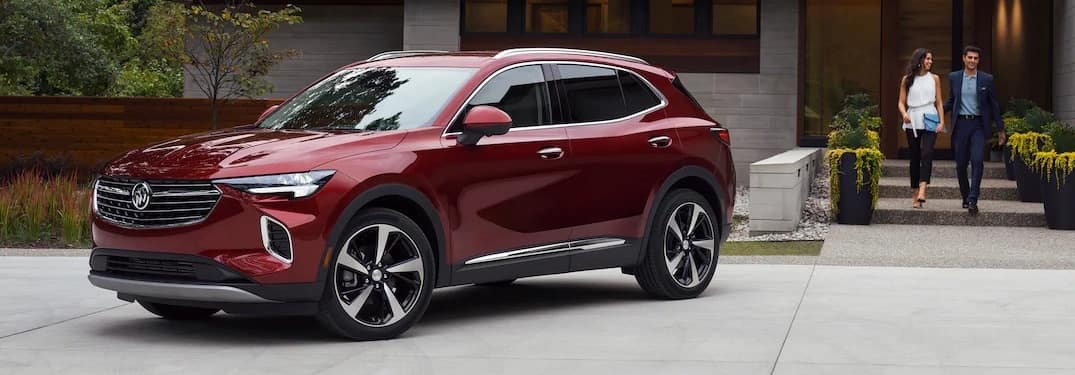 2021 Buick Envision Avenir with people walking up to it