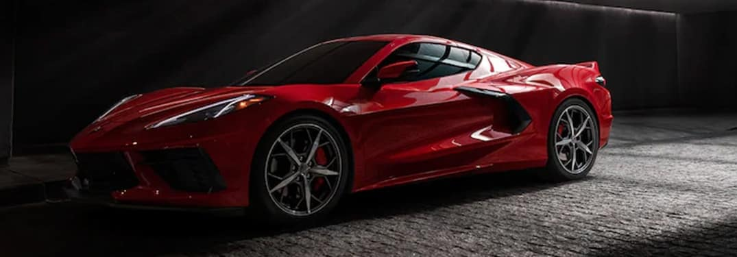 2021 Chevrolet Corvette side view