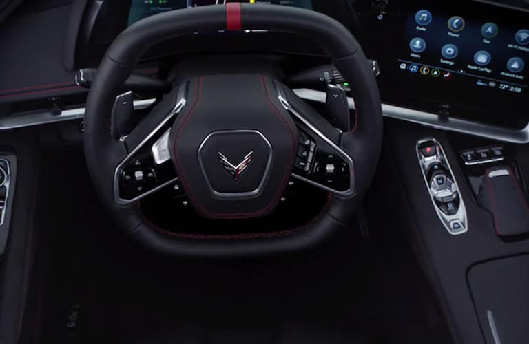 2021 Chevrolet Corvette steering wheel