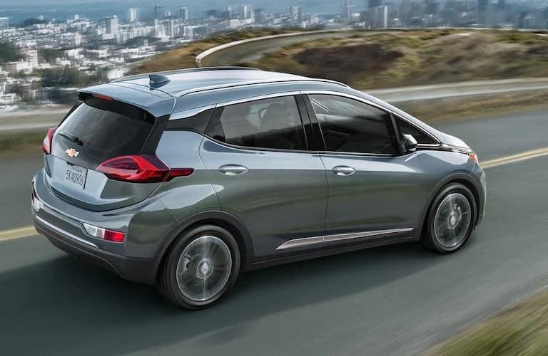 2021 Chevrolet Bolt EV driving away