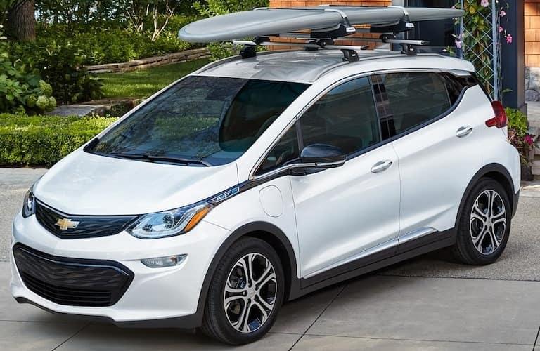 2021 Chevrolet Bolt EV in the driveway
