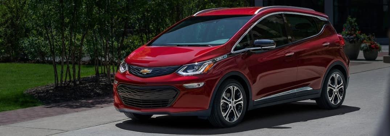 2021 Chevrolet Bolt EV on the road