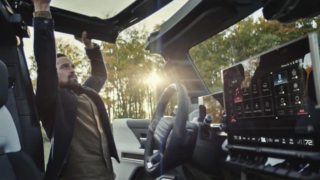 GMC Hummer EV SUV Sky Roof