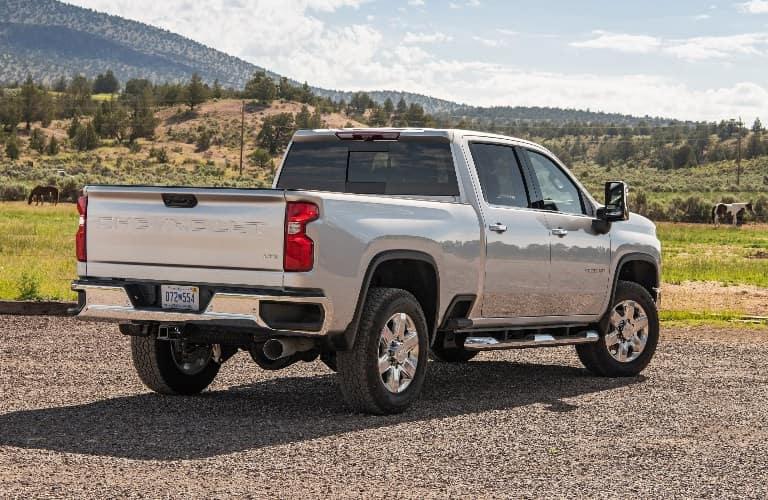 2021 Chevrolet Silverado 2500 HD back end