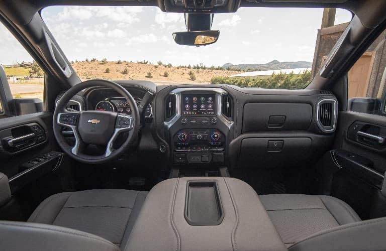 2021 Chevrolet Silverado 2500 HD dashboard