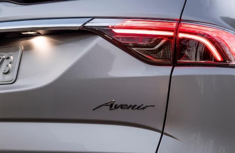 2022 Buick Enclave Avenir back end badge