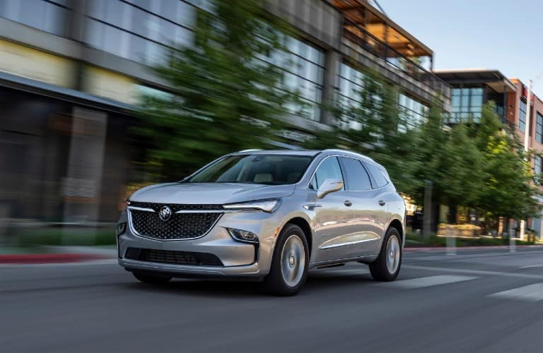 2022 Buick Enclave Avenir going down the road