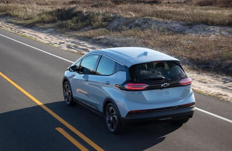 2022 Chevrolet Bolt EV driving away