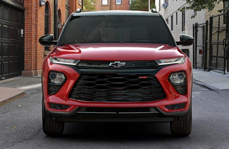 2022 Chevrolet Trailblazer front end