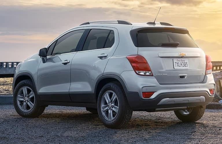 2022 Chevrolet Trax back end