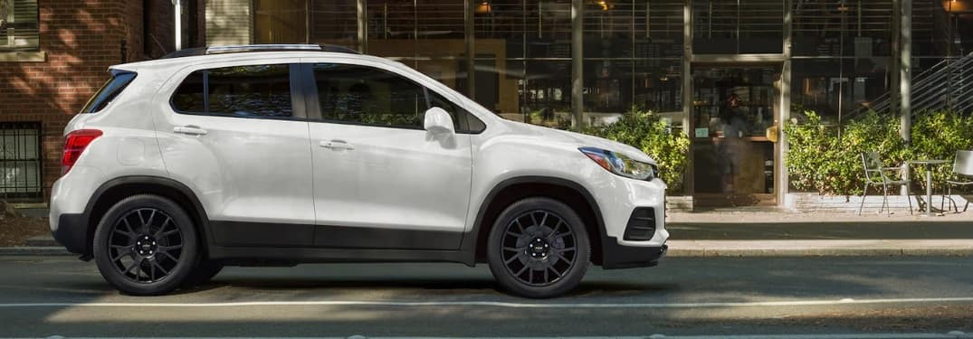 2022 Chevrolet Trax on the side of the road