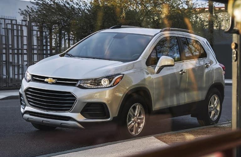 2022 Chevrolet Trax through a window