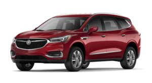Red 2018 Buick Enclave