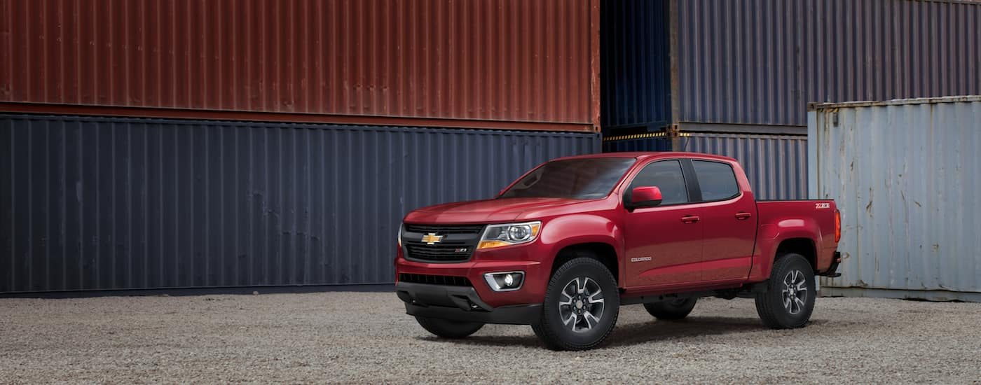 New Chevrolet Colorado Technology