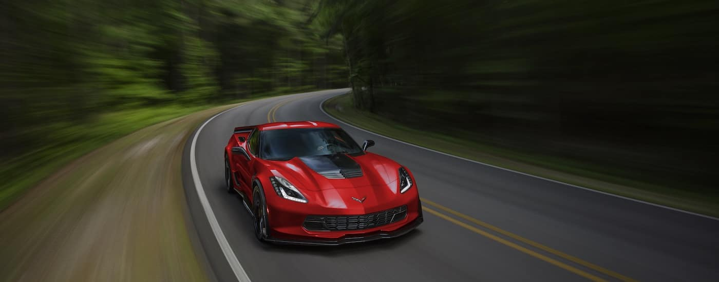 New Chevrolet Corvette Performance