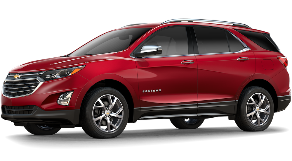 New Red 2018 Chevrolet Equinox
