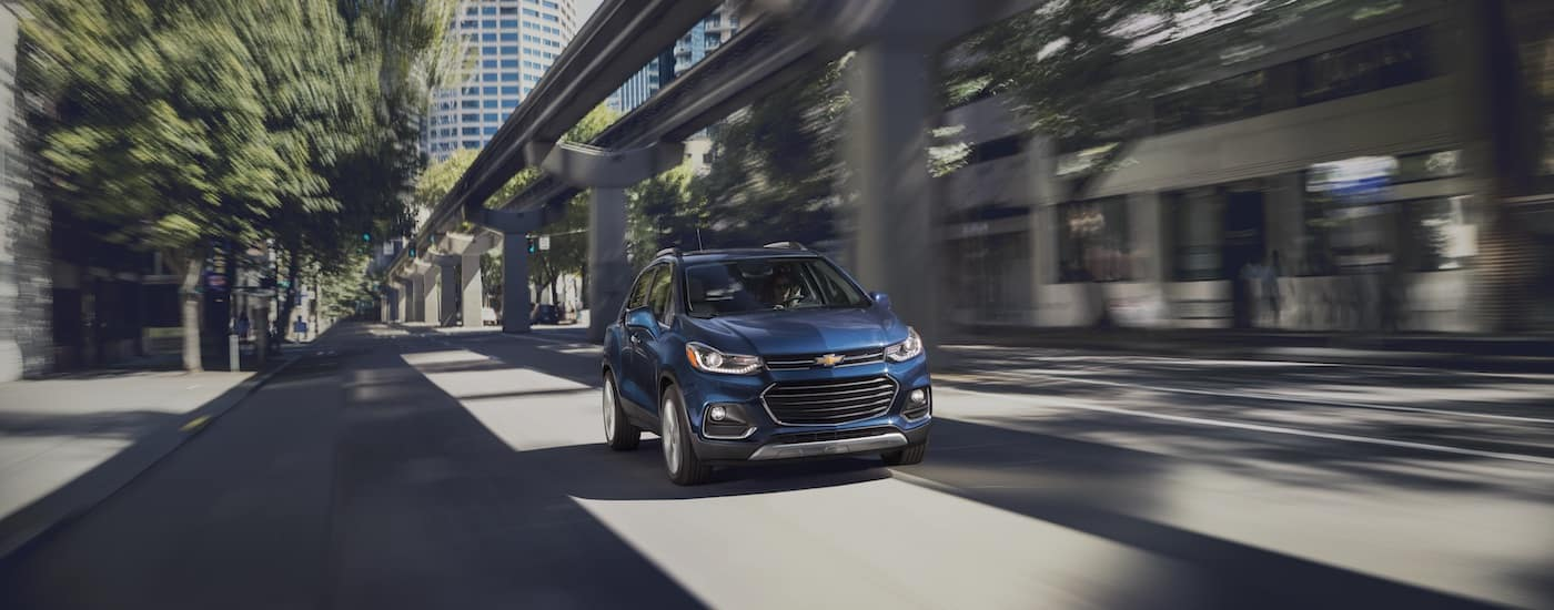 New Chevrolet Trax Control