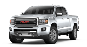 Silver 2018 GMC Canyon
