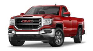 Red GMC Sierra