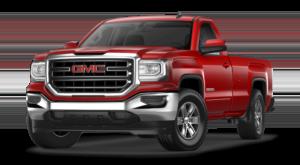 Red GMC Sierra