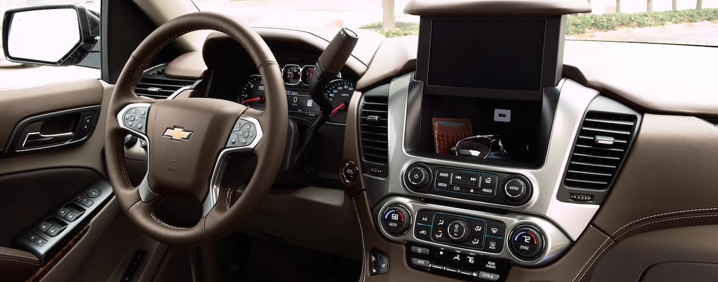 New Chevrolet Suburban Interior