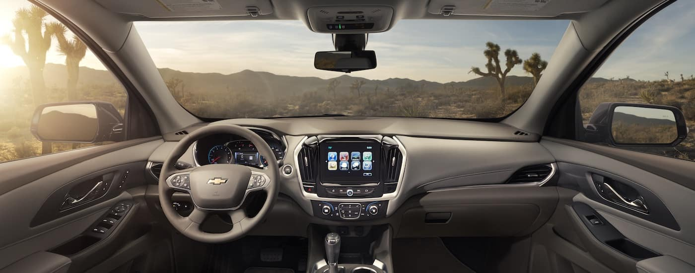New Chevrolet Traverse Interior