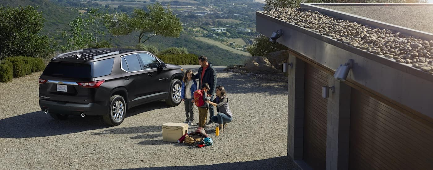 New Chevrolet Traverse Safety