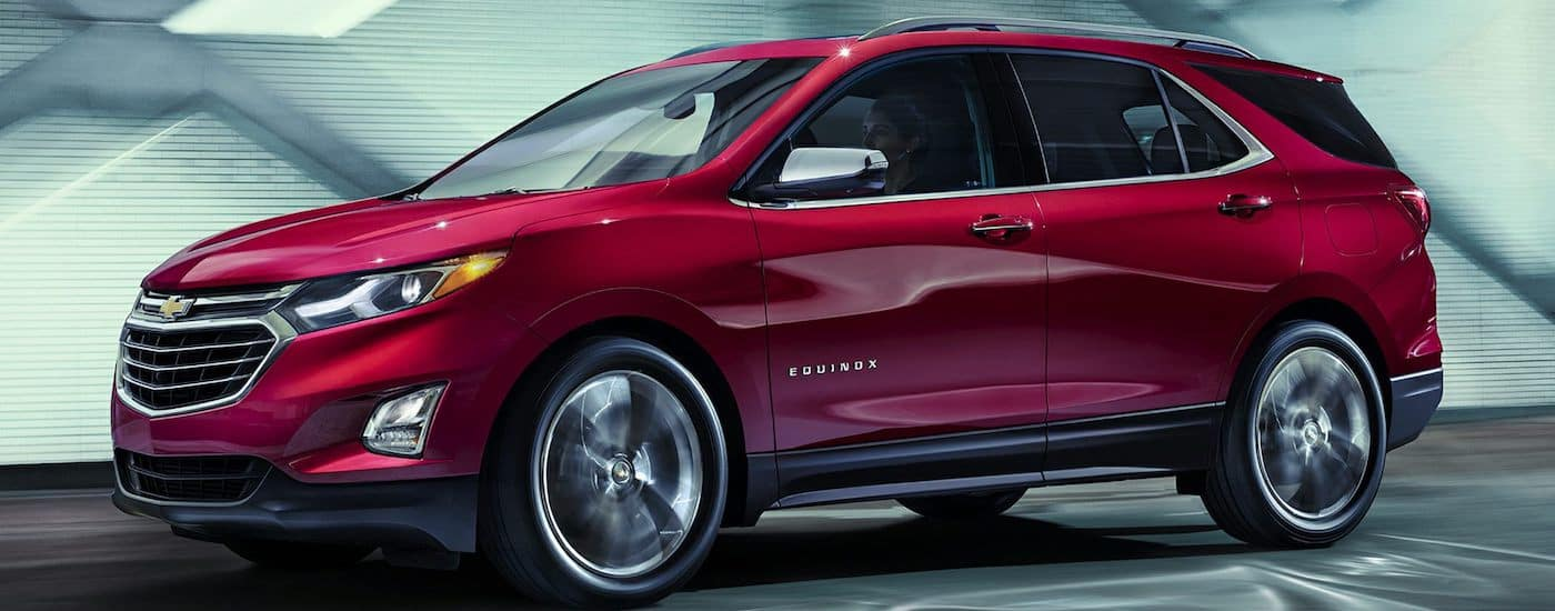2018 Chevrolet Equinox Performance Driving