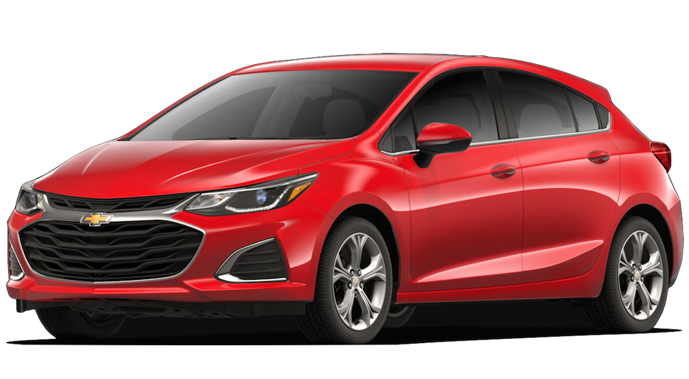 Red 2019 Chevrolet Cruze