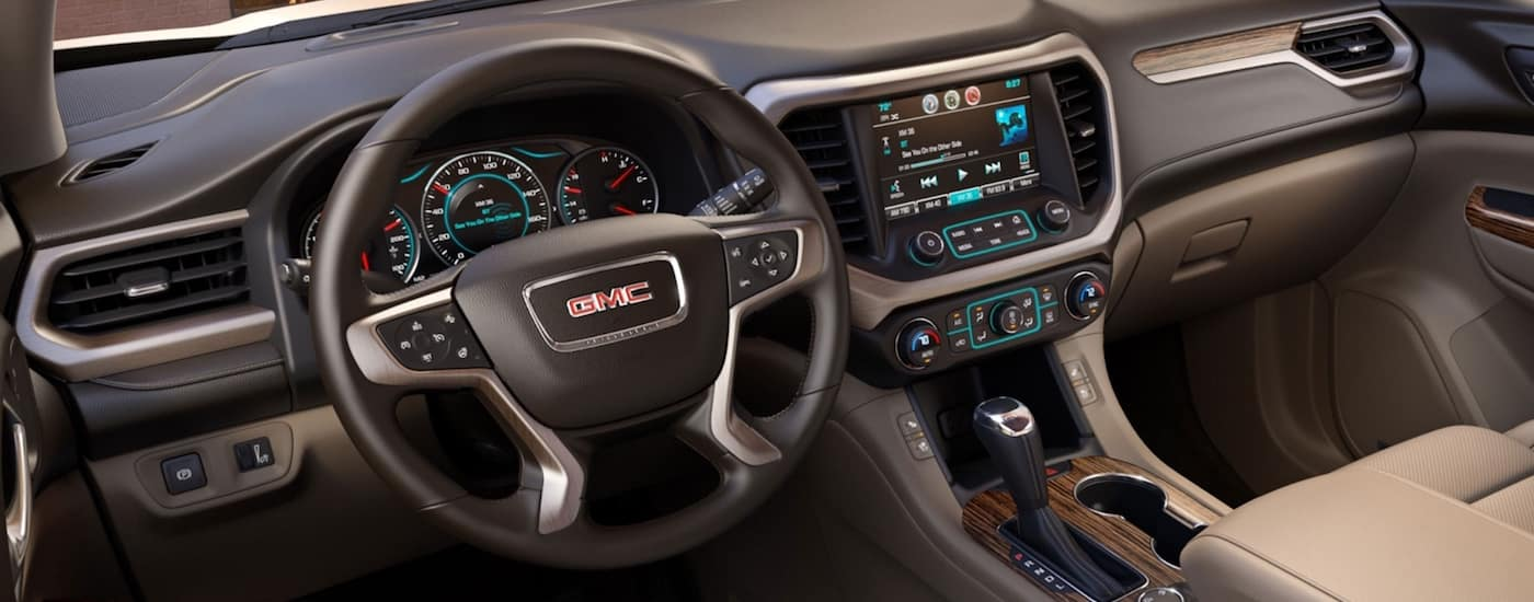 2019 GMC Acadia Interior Dashboard