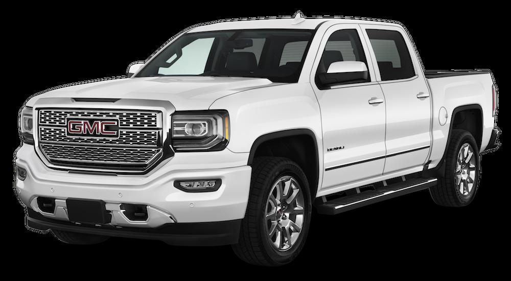 White 2019 GMC Sierra