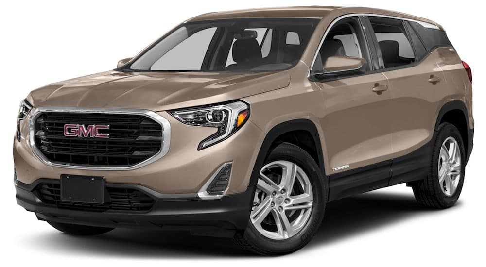 Brown 2019 GMC Terrain