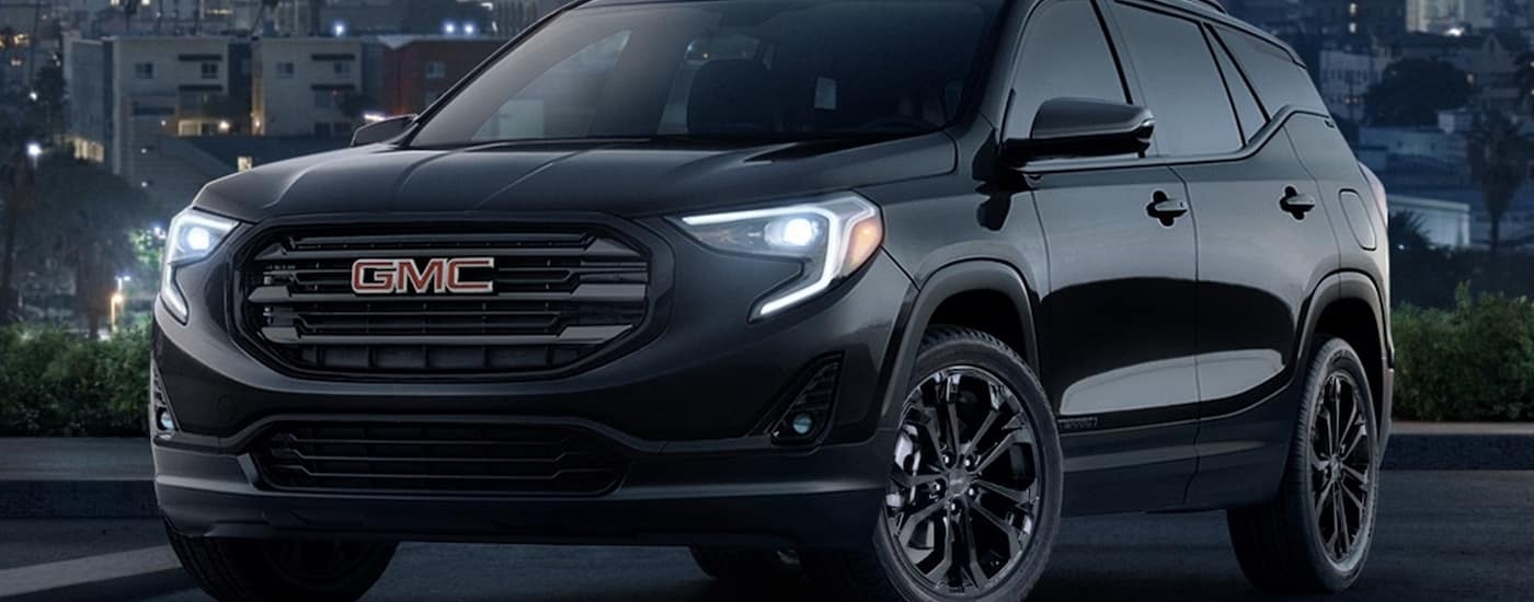 Black 2019 GMC Terrain Design
