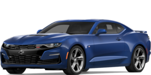 Blue 2019 Chevy Camaro