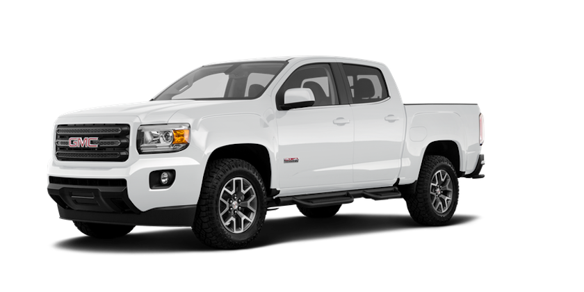 A white 2019 GMC Canyon from Carl Black Orlando