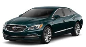 Green 2019 Buick LaCrosse on white