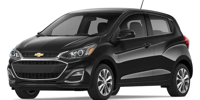 2019 Chevy Spark in Mosaic Black