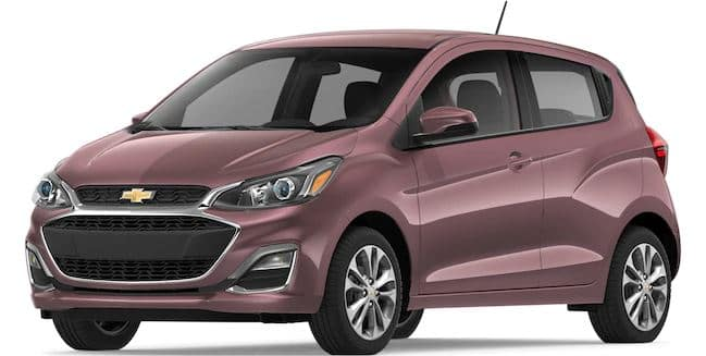 2019 Chevy Spark in Passion Fruit