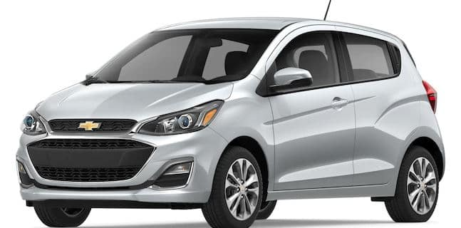 2019 Chevy Spark in Silver Ice Metallic
