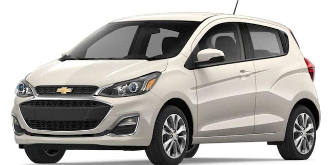 2019 Chevy Spark in Toasted Marshmallow
