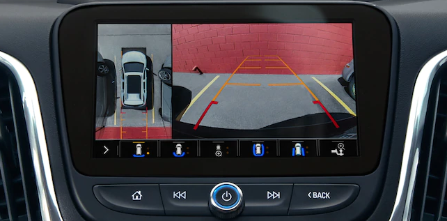 rearview camera in a chevy equinox