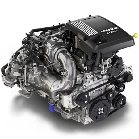 chevy silverado duramax diesel engine
