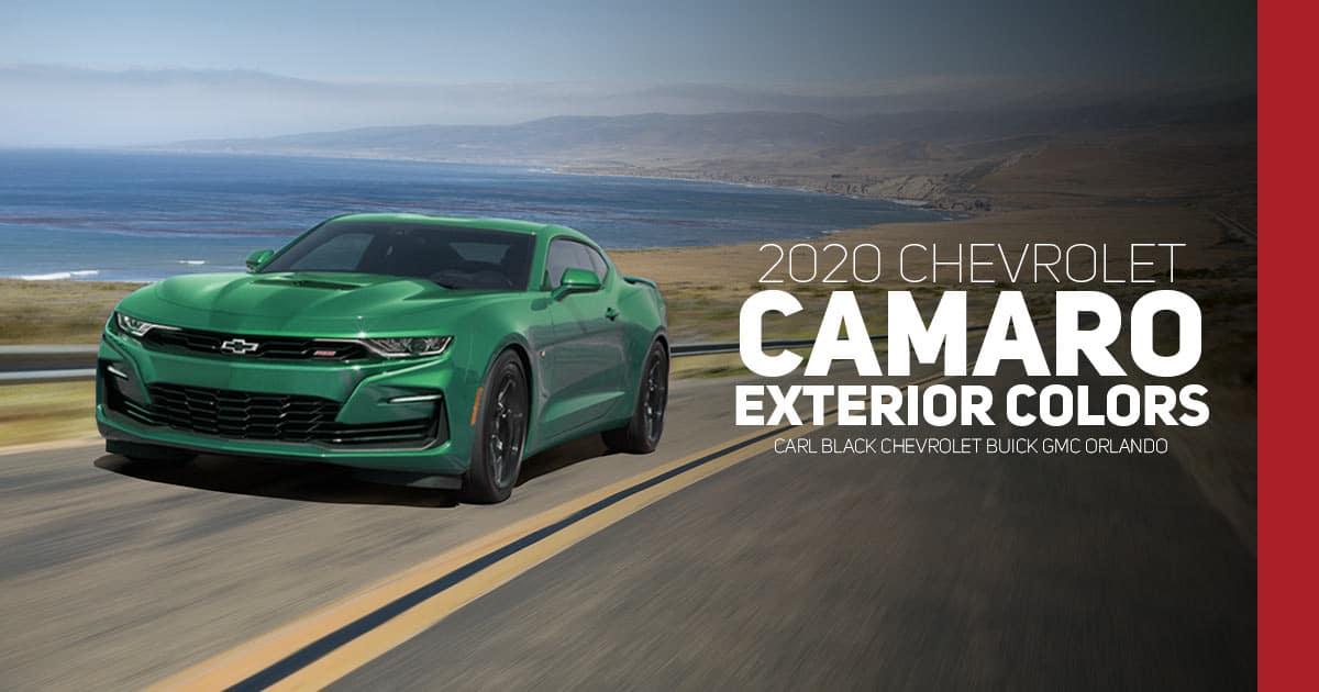 2020 Chevrolet Camaro Color Options - Carl Black Orlando